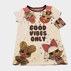 L.O.L Surprise! Good Vibes Only PJ Top ONLY